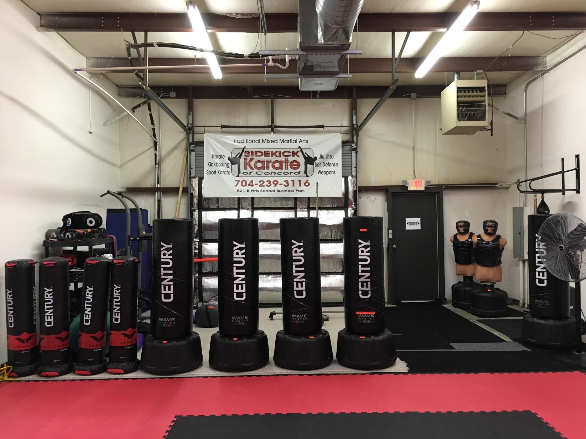 Sidekick Karate of Concord NC Facilities