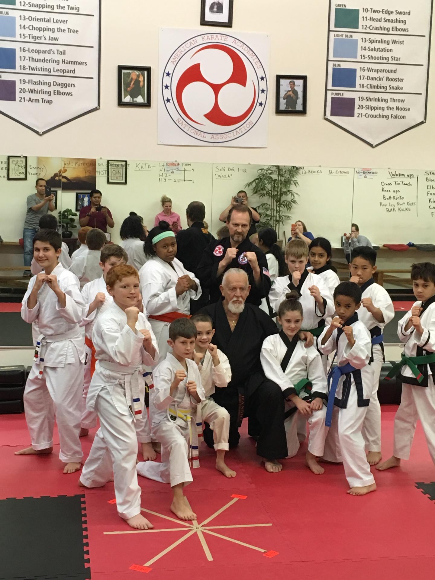 Hanshi comes to Sidekick Karate of Concord NC
