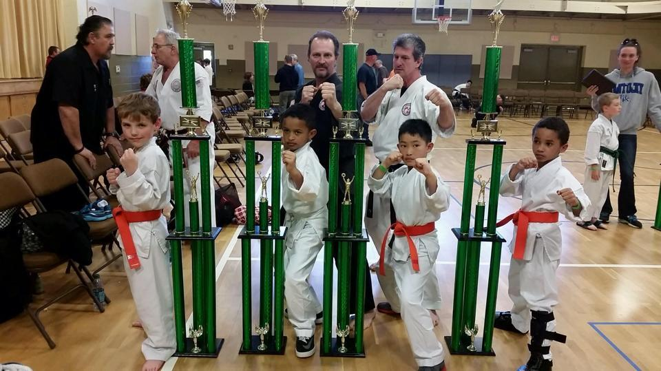 Sidekick Karate of Concord NC Awards