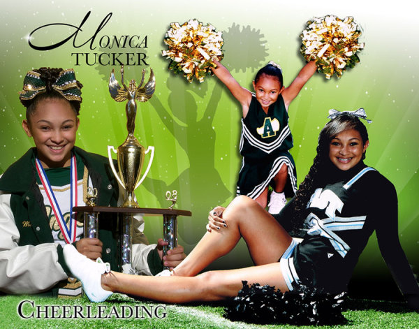 Cheerleading Memories Poster