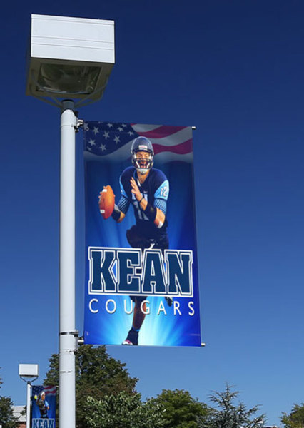 SPORTS LIGHT POLE BANNERS