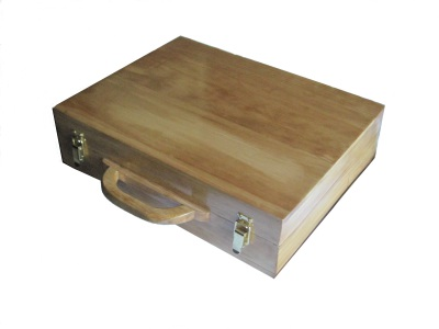 Custom Solid wood briefcase. No composites or plywood used. Custom made to your specifications.  furniture