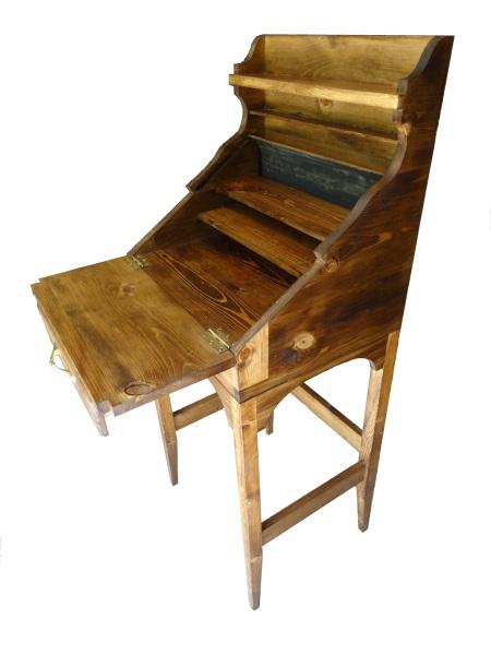 custom rolltop desk open