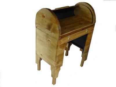 custom rolltop desk desk open