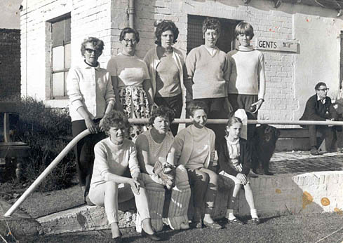 Lady Cricketers 1969