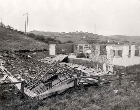 Pavilion Blown Down 1976