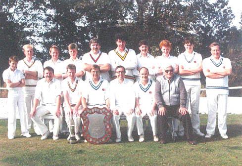 Crossley Shield Winners 1986