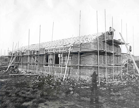 New Clubhouse Under Construction 1976