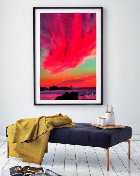 Aspeto All'Alba Framed Art Prints