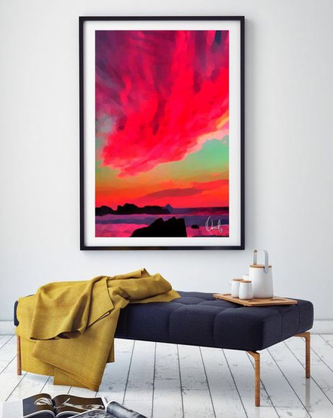 Aspeto All'Alba Framed Art Prints