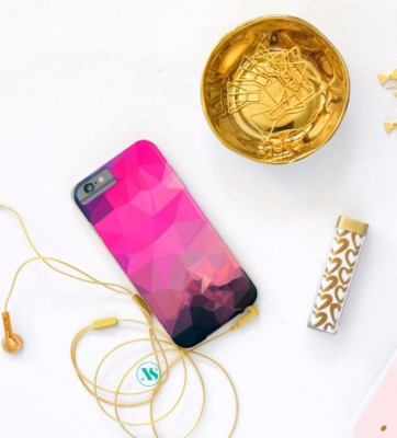 POLY-SUNRISE IPHONE CASE