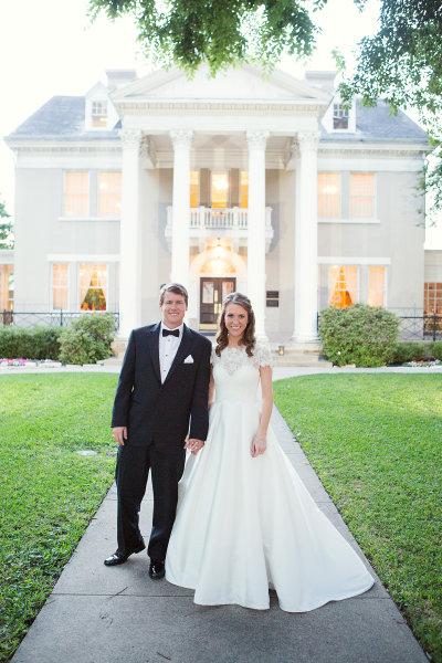 Elizabeth and Kent- Belo Mansion Wedding