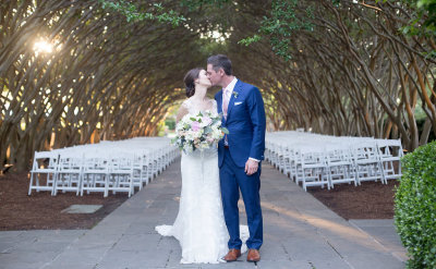 Ariel and John- The Dallas Arboretum Wedding