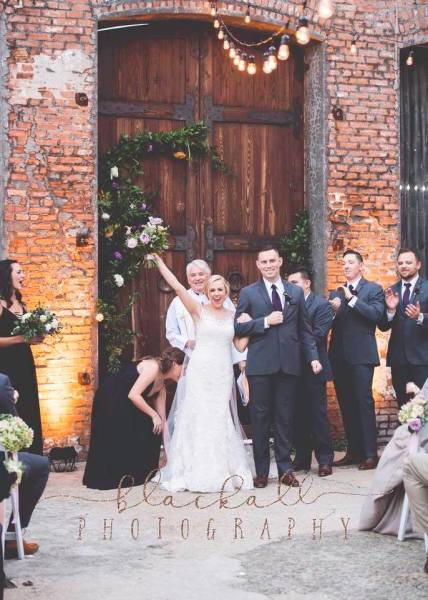 Emily and Kyle- McKinney Cotton Mill Wedding