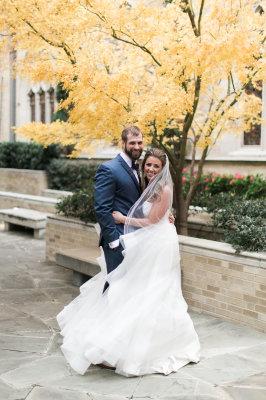 Ashley and Danny- Trinity River Audubon Center Wedding