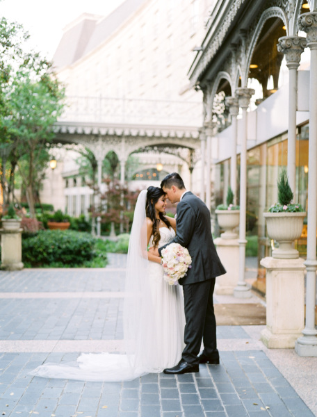 Ashely and AJ- Hotel Crescent Court