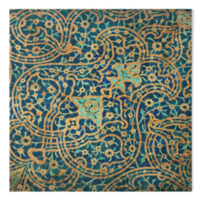 Persian Ceramic Design 20 - Was $12 on Sale $9