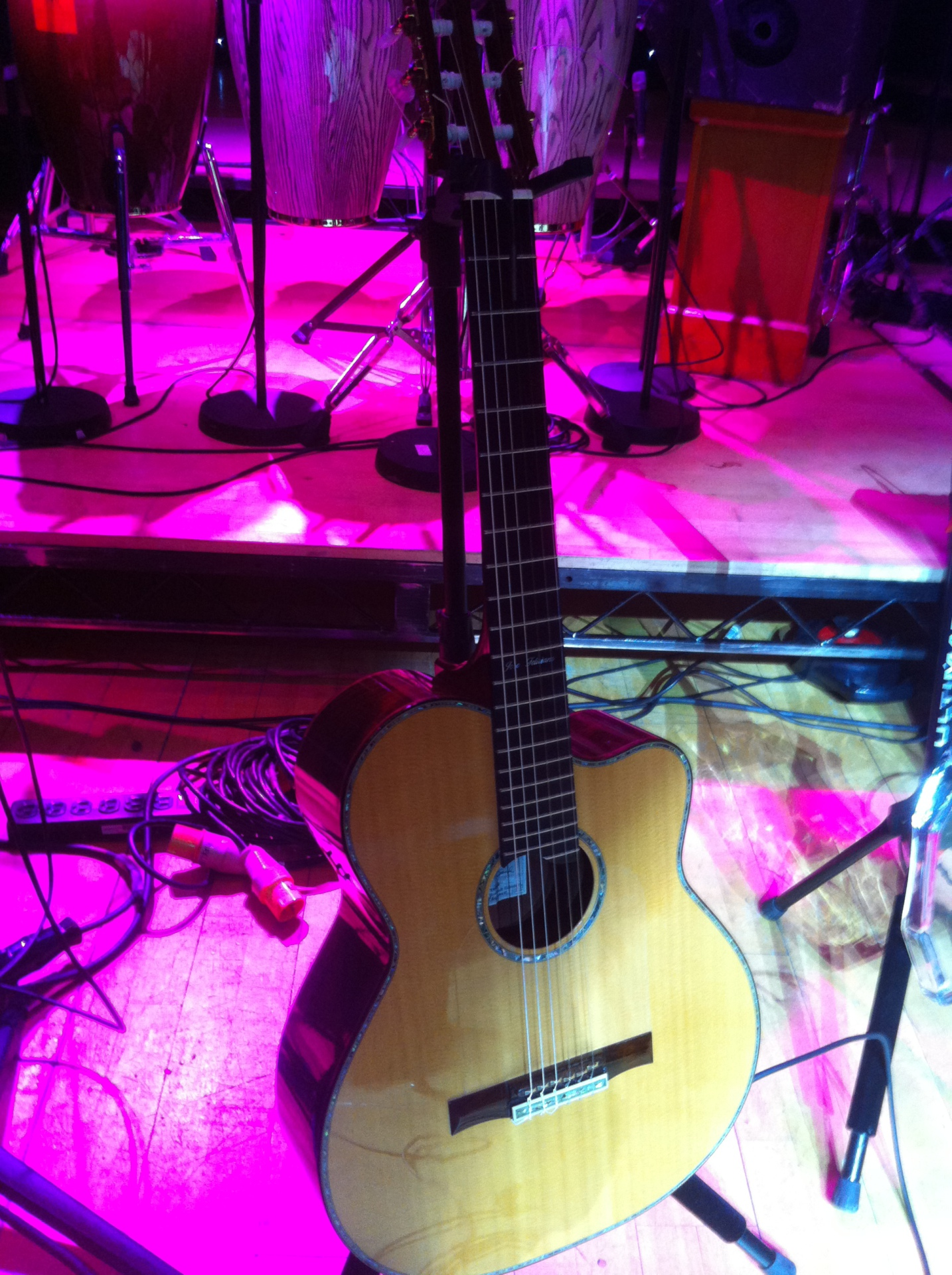 One of Jose's guitars!