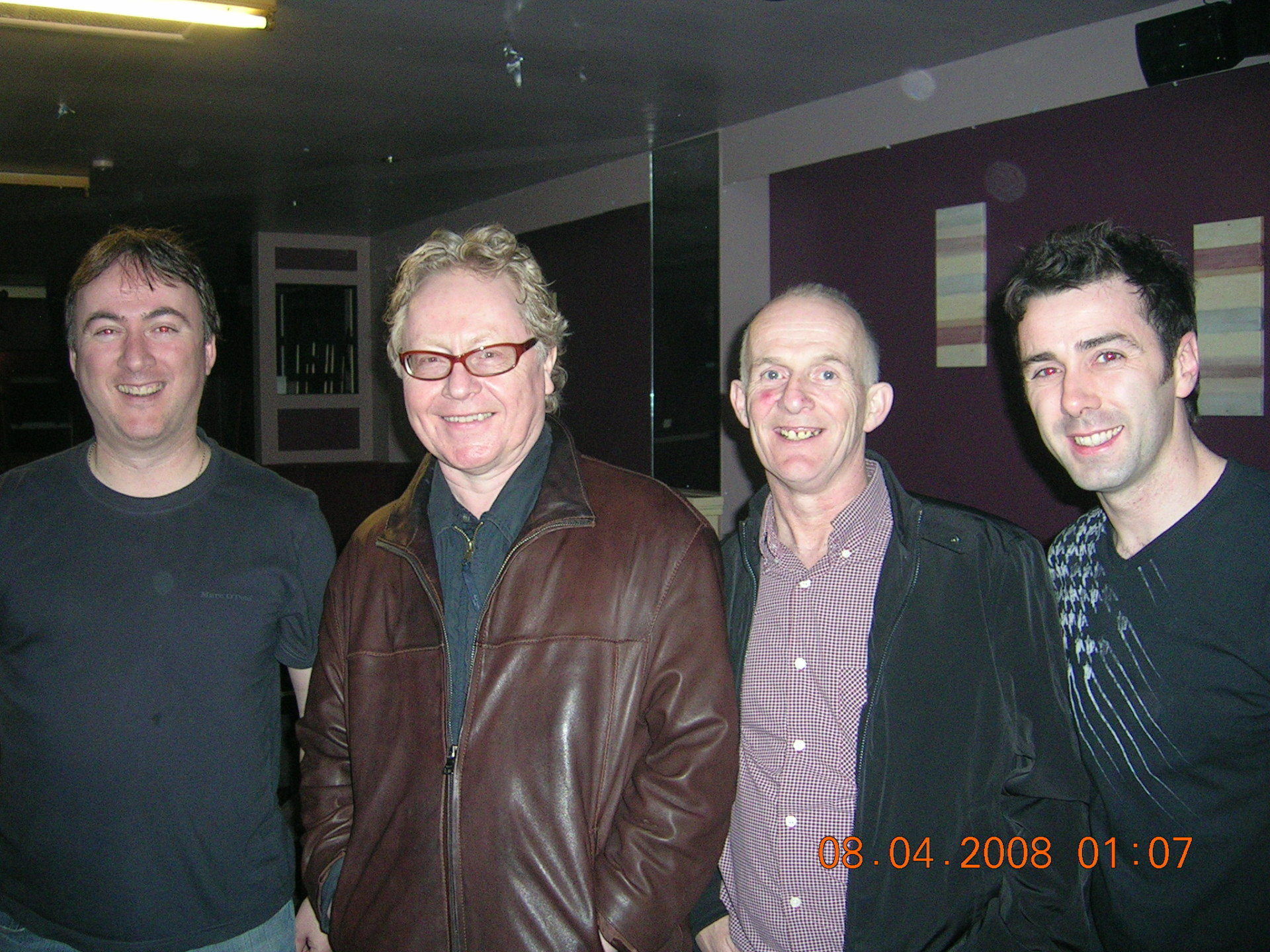 With Paul Brady, Ping and Mickey J Harte