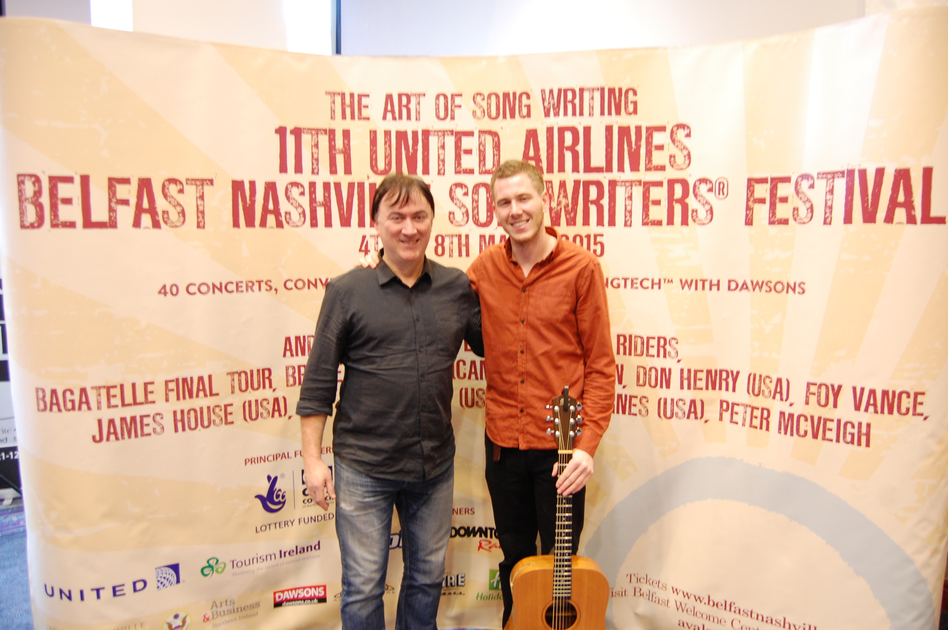 Belfast Nashville Launch with Paul Tully