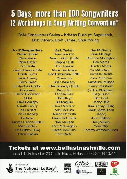 Belfast Nashville