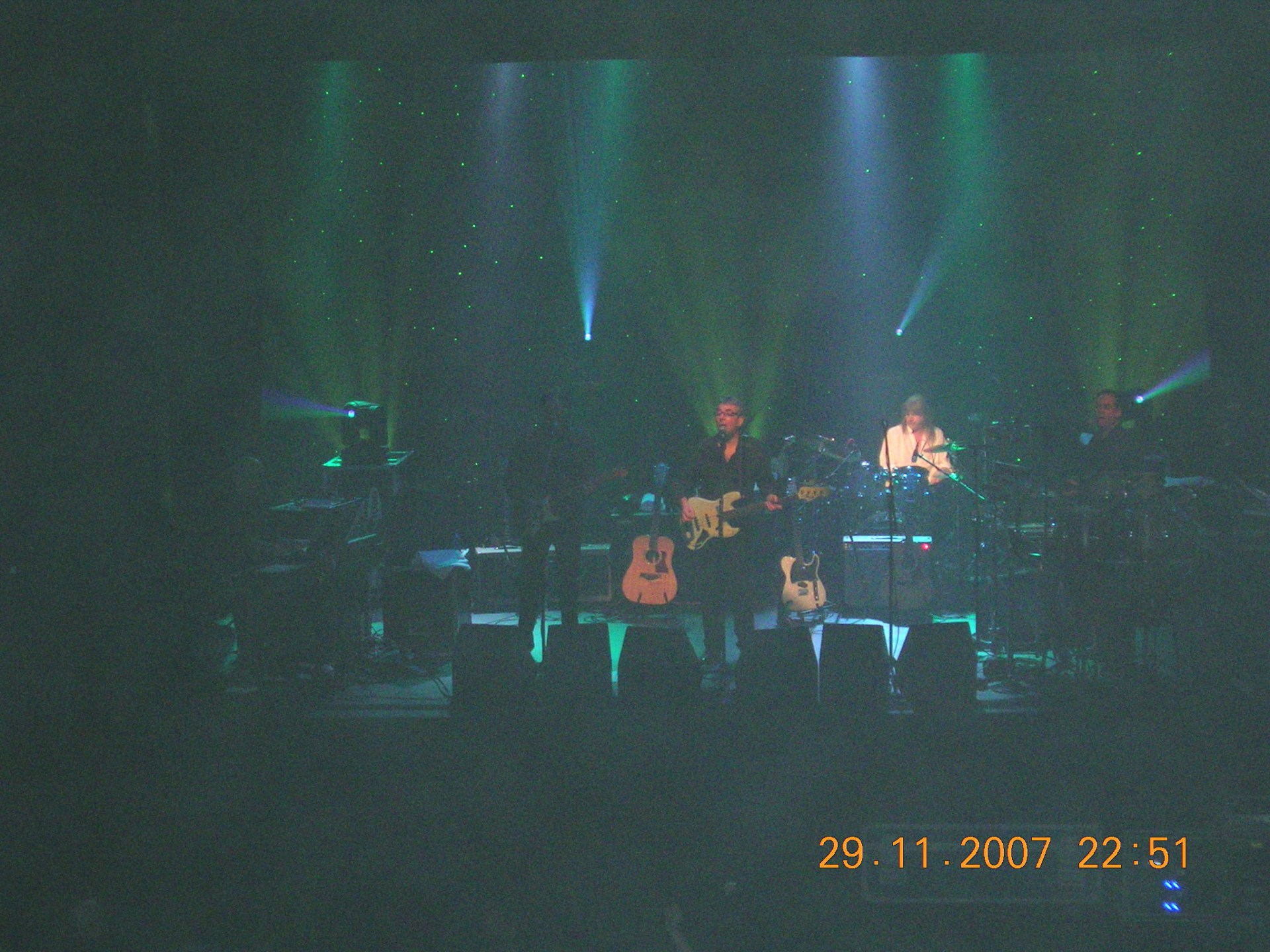 10cc 2007 Wexford (Five support dates and didn't take a photo with the band!)