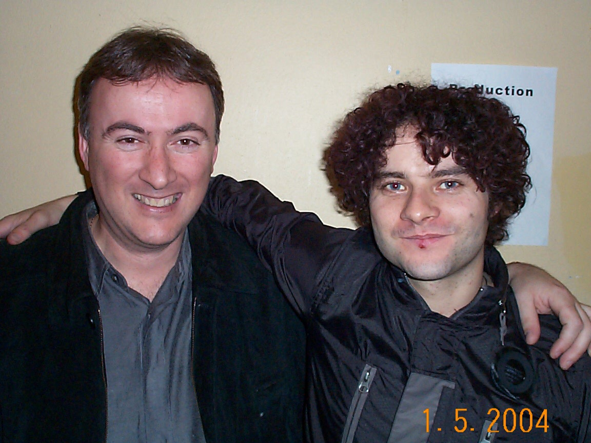 With Paddy Casey, The Nerve Centre Derry