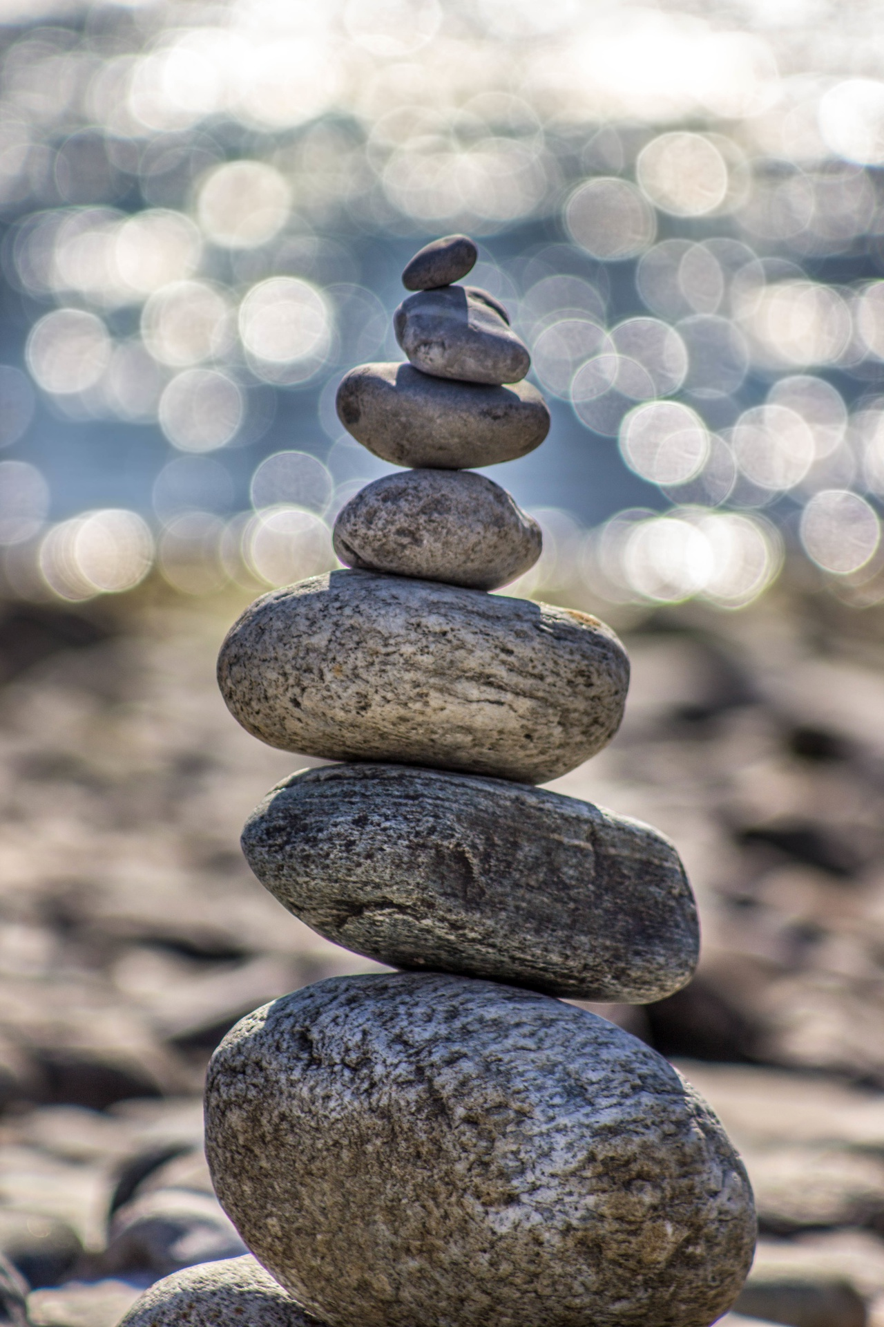 naturopathic medicine meditation rocks