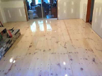 NEWLY INSTALLED FLOOR