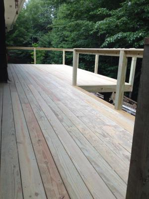 21' x 30' DECK - EARLY STAGES
