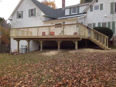 COMPLETED 21' x 30' DECK