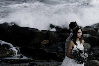 Coastal Styled Wedding Shoot