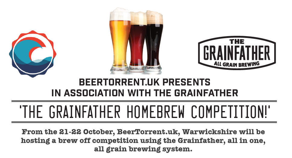 Grainfather Brew Off Competition
