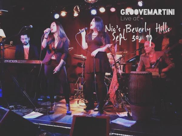 GrooveMartini Live at Nics - Beverly Hills