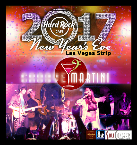 New Years Eve 2017 Live at HARD ROCK CAFE - LAS VEGAS