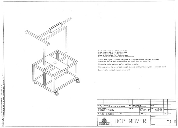 HCp Mover