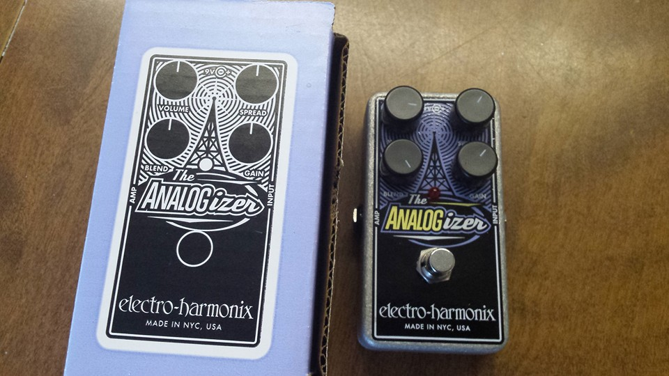 New Pedal ! ANALOGizer EHX