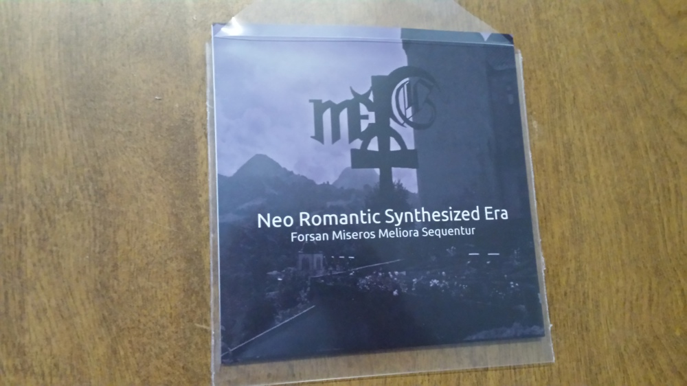 First CD release ! Neo Romantic Synthesized Era