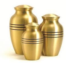 Brass Pet Urns