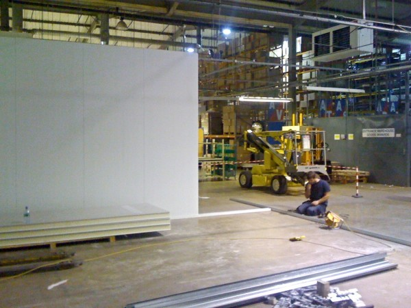 Wipac Modular Cleanroom Assembly