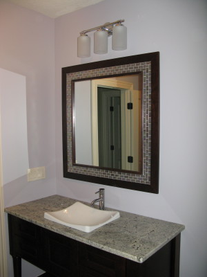 West Des Moines Powder Room Remodel
