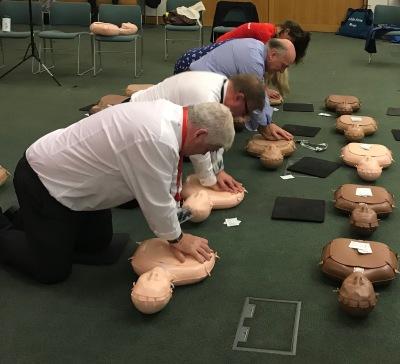Teaching Members of Parliament CPR