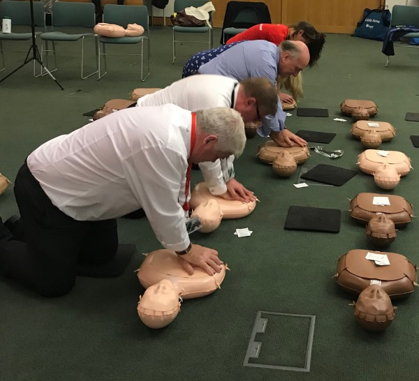 Teaching Members of Parliament CPR