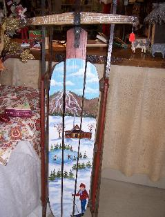 Hand Painted Furniture & Decor