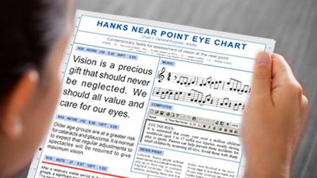 Hanks Hear-Point Eye Charts