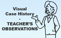 Teacher's Observations for Visual case History