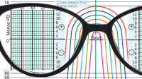 Spectacle Lens Layout Chart