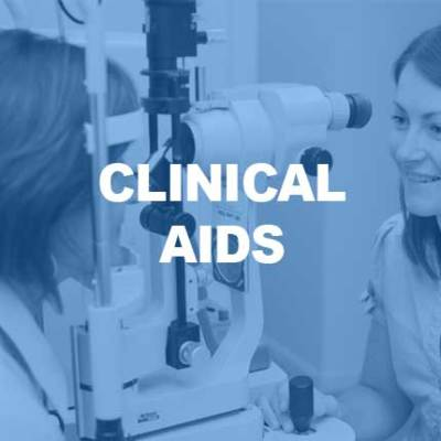 Optometry clinical aid websites