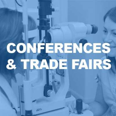 Optometry conferences and trade fair websites