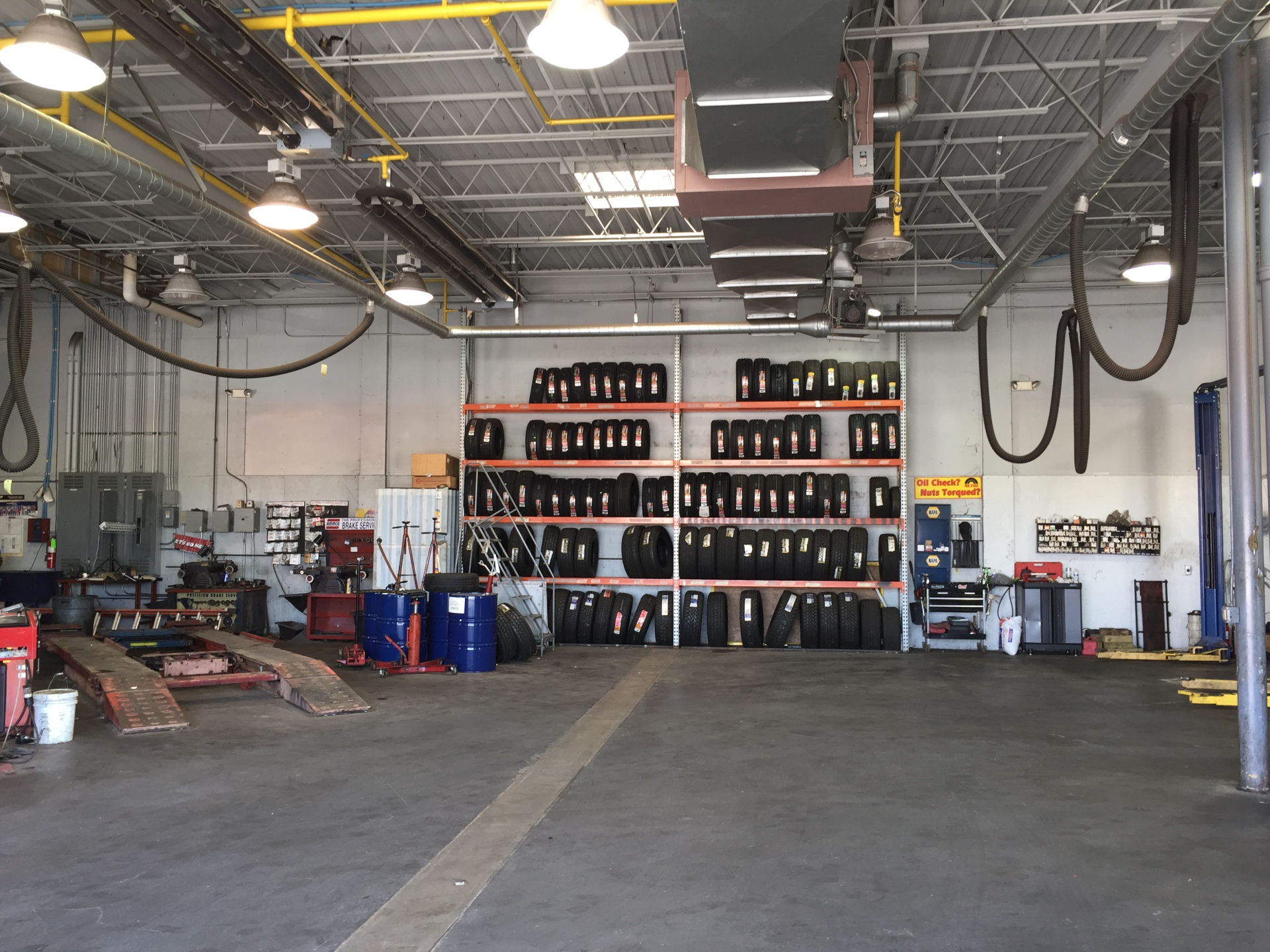 OUR TIRE DEPARTMENT